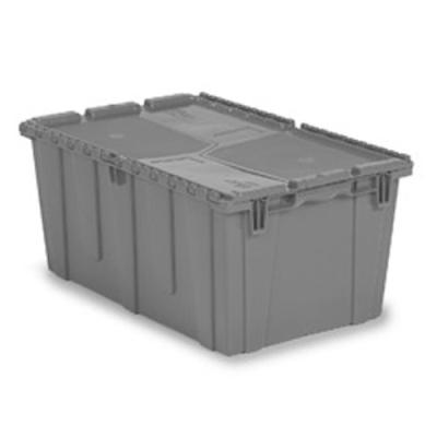 "26.9""L x 16.9""W x 12.1""H Gray Container"