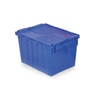 """21.8""""L x 15.2""""W x 12.9""""H Blue Container"""
