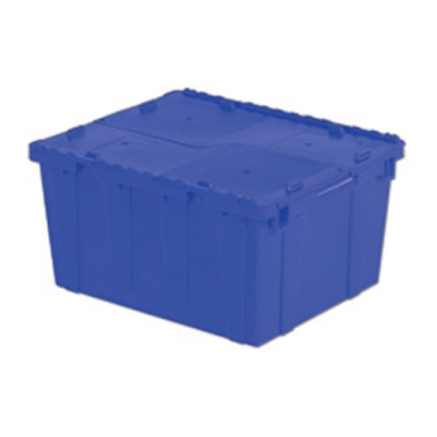 """23.9""""L x 19.6""""W x 12.6""""H Blue Container"""