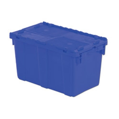 "22.3""L x 13""W x 12.8""H Blue Container"
