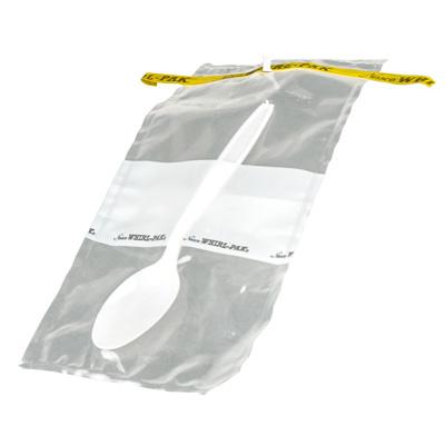 "Whirl-Pak® Sterile Spoon Write On Bag - 4-1/2""W x 9""L x 2.5 mil"