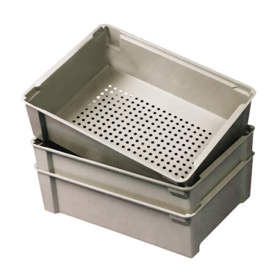"21-1/8""L x 15-5/8""W x 6""H Wash Box with Perforated Bottom"