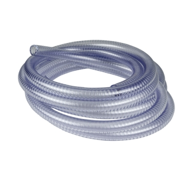 """4"""" ID x 4-1/2"""" OD Clear Suction and Delivery Hose"""