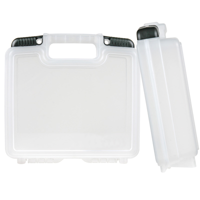 "10-1/2"" Clear Tradesman™ Case - 9-1/2"" L x 5-3/4"" W x 2-3/4"" Hgt."