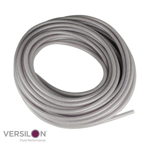 "1"" ID  x 1.312"" OD x .156"" Wall Versilon™ NT-80™ Flexible Reinforced PVC Tubing"