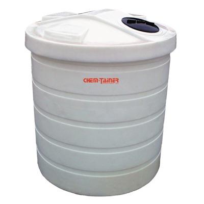 "1000 Gallon Double Walled Bulk Storage Tank 74"" Dia. x 85"" H"