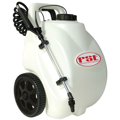 5 Gallon Rechargeable Sprayer w/PE Tank, 1 GPM Pump & 12 Volt Rechargeable Battery