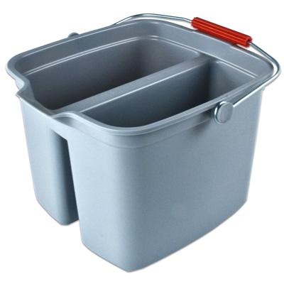 """17 Qt. Divided Bucket,  13-7/8""""L x 14-5/8""""W x 10-1/8""""H"""
