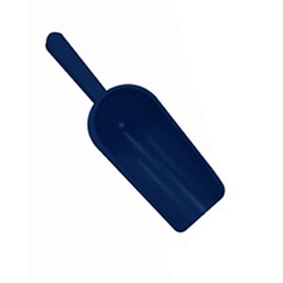 8 oz. Sterileware® Sense-able™ Detectable Scoop - Blue