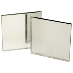 "0.125"" x 12"" x 24"" Acrylic Clear Mirror Sheet"
