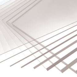 ".118""(3.0mm) x 12"" x 12"" Makrolon® Polycarbonate Sheet"