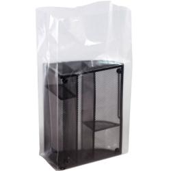 "5"" x 3"" x 15"" 2 Mil Polyethylene Gusset Bags"
