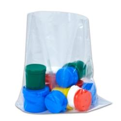 "7"" x 10"" x 4 mil Flat Polyethylene Plastic Smart Tech Bags™"