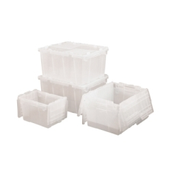 "2.4 Cu. Ft. Clear Container - 27""L x 17""W x 12""H"
