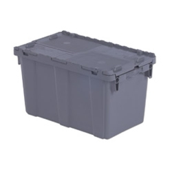 "22.3"" L x 13"" W x 12.8"" Hgt. Gray Security Shipper Container"