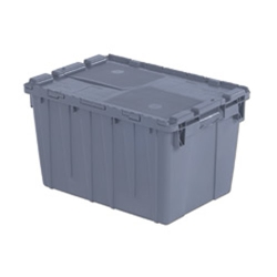 "21.8"" L x 15.2"" W x 12.9"" Hgt. Gray Security Shipper Container"