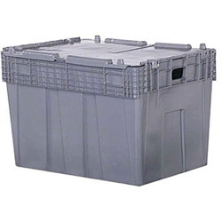 "30"" L x 22"" W x 20.5"" Hgt. Gray Security Shipper Container"