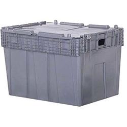 "30""L x 22""W x 20.5""H Gray Container"