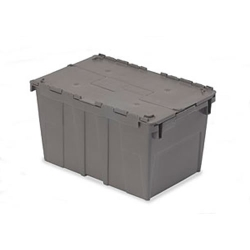 "20.6"" L x 13.2"" W x 11.6"" Hgt. Gray Security Shipper Container"