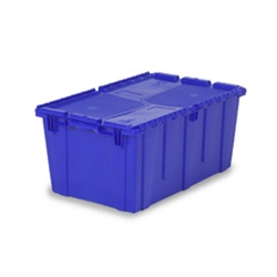 "26.9""L x 16.9""W x 12.1""H Blue Container"