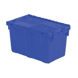 "22.3"" L x 13"" W x 12.8"" Hgt. Blue Security Shipper Container"