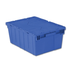 "21.9"" L x 15.2"" W x 9.3"" Hgt. Blue Security Shipper Container"