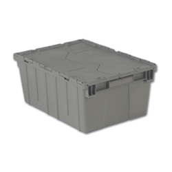 "21.9"" L x 15.2"" W x 9.3"" Hgt. Gray Security Shipper Container"
