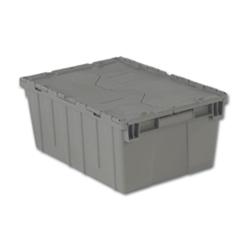 "21.9""L x 15.2""W x 9.3""H Gray Container"