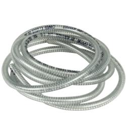 """1/4"""" ID x 0.447"""" OD POLYSPRING® PVC Wire Reinforced Hose"""