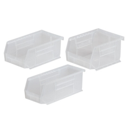 "Clear Lid for 10-7/8""L x 4-1/8""W x 4""H Bins"