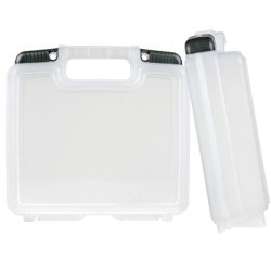 "14"" Clear Tradesman™ Case - 13-1/4"" L x 7-3/8"" W x 3"" Hgt."