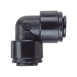 5mm Black Union Elbow
