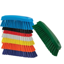 Vikan® Color-coded Scrub Brush w/Stiff Bristles