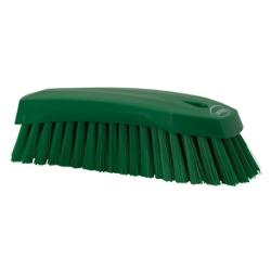 Green Scrub Brush w/Stiff Bristle
