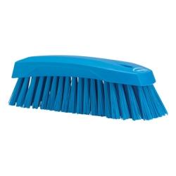 Blue Scrub Brush w/Stiff Bristle