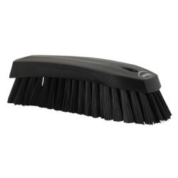 Black Scrub Brush w/Stiff Bristle