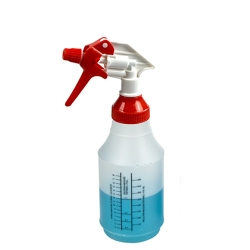 24 oz. Wide Mouth Spray Bottle with Red & White Sprayer