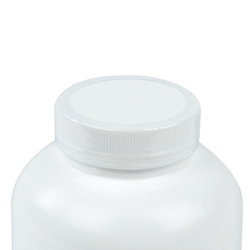 33/400 White Polypropylene Ribbed Cap with F217 Liner