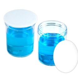 Chemware® PTFE Watch Glasses/Beaker Covers 15 cm Diameter