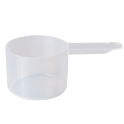 50cc Natural Polypropylene Scoop