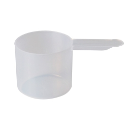 60cc (4 Tbsp./2 oz.) Natural Polypropylene Scoop