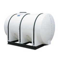 "510 Gallon Free Standing Horizontal Tank 57"" x 80"" x 39"" End Drain"