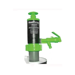 GoatThroat™ Drum Pump with Viton™ Seal, Green with Standoff