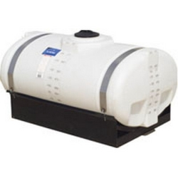 "1250 Gallon Elliptical Tank 78"" x 92"" x 60"" with 8.5"" Deep Sump"