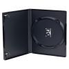 Single Amaray® Dark Gray Premium DVD Case w/Ying Yang Hub