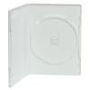 Single Amaray® White Premium DVD Case w/Ying Yang Hub