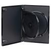Double Amaray® Dark Gray Premium DVD Case w/Ying Yang Hub