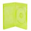 Single Amaray® Transparent Green Premium DVD Case w/Y Hub