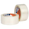 48mm x 100m 1.6 mil HP 100® Clear General Purpose Hot Melt Packaging Tape- Clear