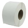 "4"" W x 3"" L Perforated Direct Thermal Transfer Labels- Case of 4 Rolls"